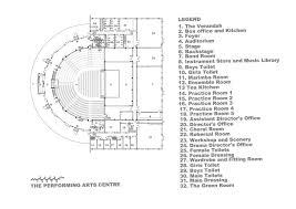 stage floor plan harare international school designshare projects