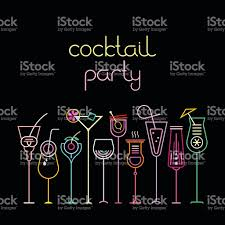 cocktail party stock vector art 511199128 istock