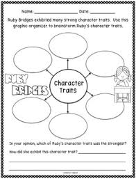 free ruby bridges character traits activity by kirsten u0027s kaboodle