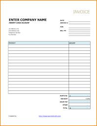 invoices hvac work order invoice template minimalist mechanic