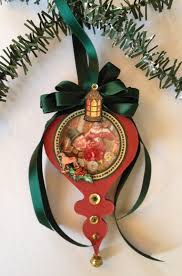 annes papercreations how to make a christmas shaker ornament