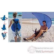 sieges de plage chaise de plage sac à dos avec canopy kelsyus colori bleu 80901