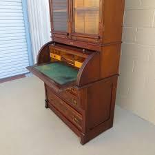 Large Secretary Desk by Antique Secretary Desk With Bookcase Antique Furniture