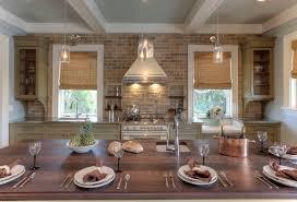 brick kitchen backsplash cottage kitchen herlong u0026 associates