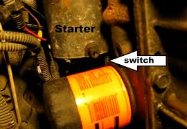the original mechanic how to replace the starter in a gm 2 4l
