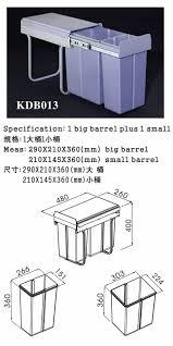 kitchen cabinet bin kitchen bin dustbin wastebin rubbishbin ash bin kdb013 for sale