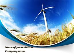 environmentally friendly agriculture powerpoint template