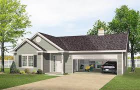 Apartment Garages One Story Garage Apartment 2225sl Architectural Designs