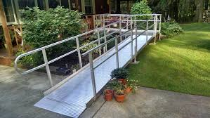liberty series aluminum solid deck mission access