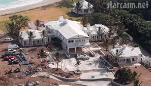 aerial photo of celine dion u0027s jupiter island florida estate and