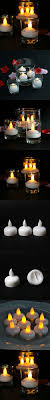 floating led tea lights youngerbaby 24pcs yellow led flameless flickering led tea lights