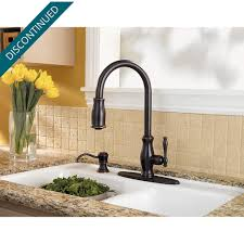 Price Pfister Ashfield Kitchen Faucet Tuscan Bronze Hanover 1 Handle Pull Down Kitchen Faucet F 529