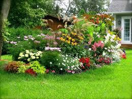 Backyard Flower Bed Ideas Backyard Flower Bed Design Colorful Flower Garden Ideas Around