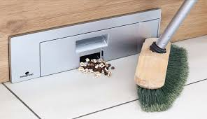 what are the easiest kitchen cabinets to clean the sweepovac built in vacuum is the kitchen gadget you need