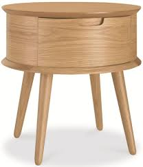 Side Table Designs With Drawers by Bentley Designs Orbit Oak Bedside Table 1 Drawer Sidetable