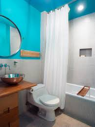 secondary bathroom for kids with blue bathroom ideas also small