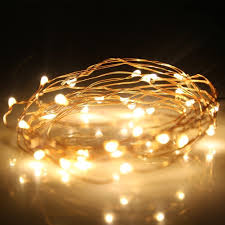 Led Wire String Lights by Battery Operated Rope Lights Outdoor Sacharoff Decoration