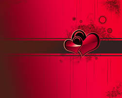 happy valentines day love glossy hearts hd wallpaper