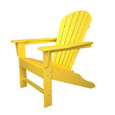 Adirondack Chair Colors Polywood South Beach White Patio Adirondack Chair Sba15wh The