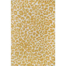 Animal Area Rugs Animal Print Gold Area Rugs Rugs The Home Depot