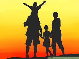 how to be a happy spiritual family 7 steps with pictures
