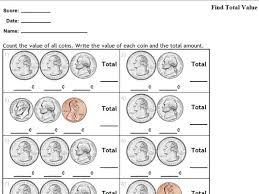 ideas collection coin money worksheets for your summary sample