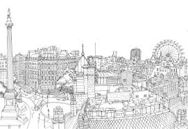 detailed line drawing estates google search coloring