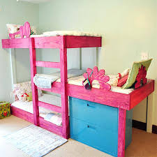 Bunk Bed For 3 Futon 3 Bunk Bed 3 Level Bunk Beds For 3 Children 3 In 1 Bunk