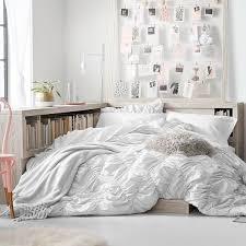 Pottery Barn White Comforter Whimsical Waves Comforter Sham Pbteen