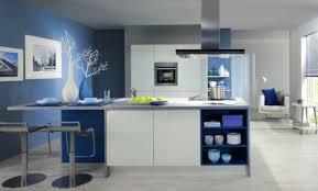 cuisine bleu petrole cuisine bleu petrole luxe cuisine bleue et blanche peinture cuisine