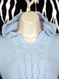 baby blue hoodie pre owned clothing