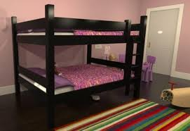 Full Over Full Bunk Beds With Stairs Plans  Modern Storage Twin - Full over full bunk bed plans