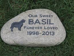 personalized memorial stones personalized pet memorials golden retriever gravestone