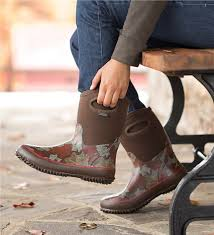 womens boots mid calf brown mid calf waterproof boot boots plow hearth