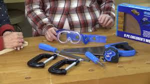 the 12 tools of christmas tool 5 childrens tool kit youtube