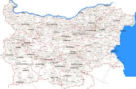 Map Of Bulgaria Bulgaria Road Map Bulgaria U2022 Mappery