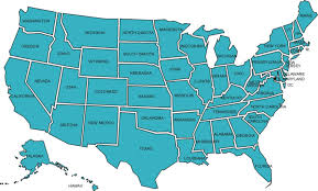 map of us united states map with state names the united states map with can