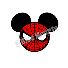 spiderman svg spiderman face svg silhouette cut files cricut