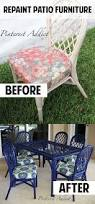 How To Restore Metal Outdoor Furniture by How To Paint Wood Patio Furniture Andrea U0027s Notebook