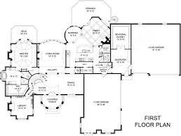 House Plans 3 Car Garage Saint Augustine European House Plan Luxury House Plan