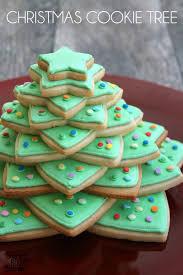 christmas cookie tree bread booze bacon