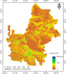 Map Of The Colorado River by Remote Sensing Free Full Text Actual Evapotranspiration Water