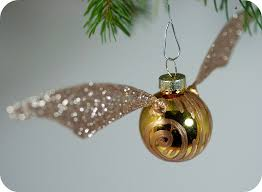 Wholesale Christmas Decorations Vancouver Bc by Tiny Apartment Crafts The Golden Snitch Ornament Tutorial