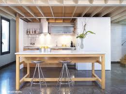 deco cuisine blanc et stunning deco cuisine bois et blanc ideas design trends 2017