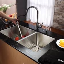 Kitchen Sink And Faucet Combo Kitchen Kraus Sink Kraus Sink Faucet Combo Kraus Double Sink