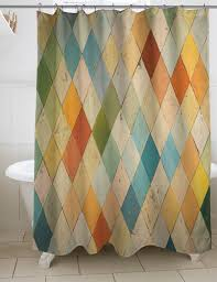 Brown And Teal Shower Curtain by Thumbprintz Argyle I Shower Curtain Walmart Com