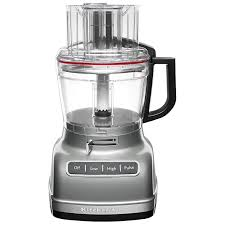 kitchenaid food processor 11 cup contour silver food