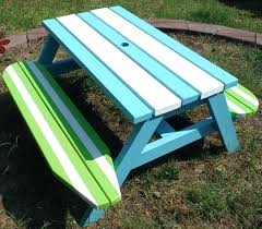 kids outdoor picnic table childs picnic table st outdoor picnic table for kids children kids