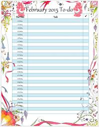 monthly to do list template to do list template