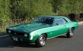 green camaro ss 1967 1969 camaro factory paint